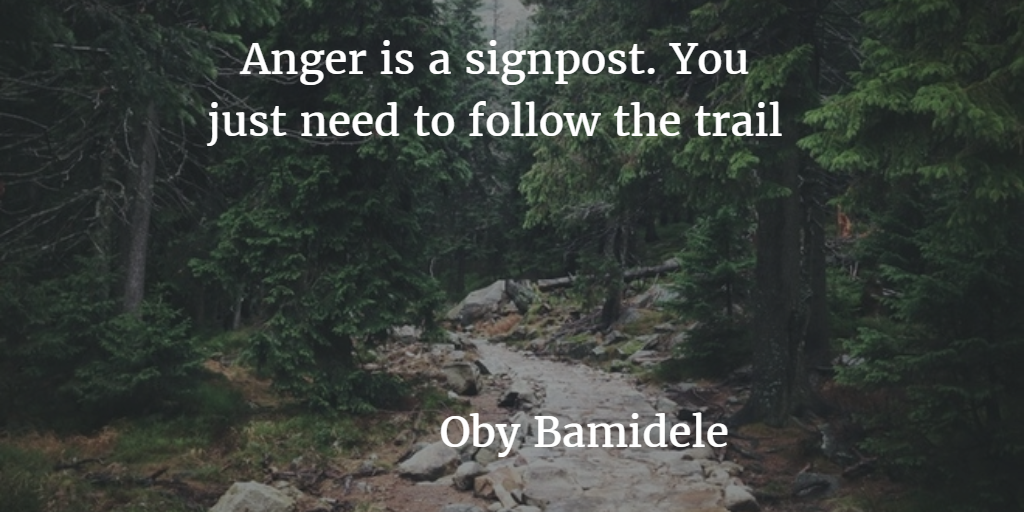 My Anger Experience – How I Followed The Trail